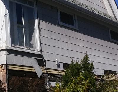 asbestos siding example