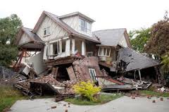 home-in-earthquake
