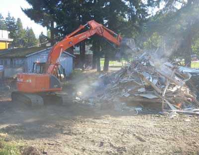house demolition process