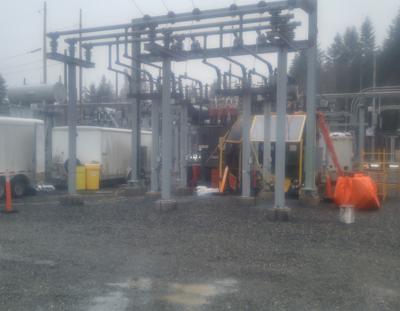 BC Hydro Substation