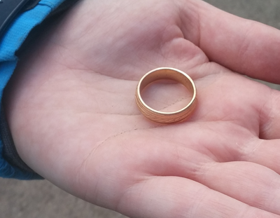 found wedding ring